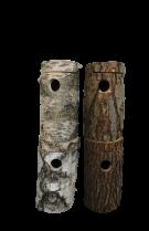 4  Nisthöhlen für Neophema, Agapornieden, Streifenhörnchen usw.